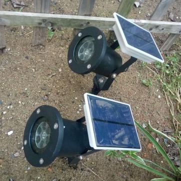 Proyector solar de Navidad Light
